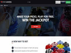 Play Sports Jackpots Now