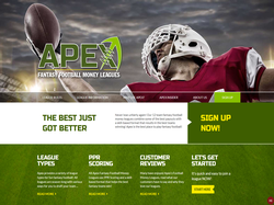 Play Apex Fantasy Football Money Leagues Now