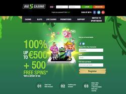 Play Big5 Casino Now