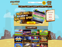 Play Gold Rush Slots Now