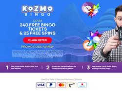 Play Kozmo Bingo Now