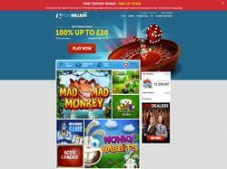 Play PlayMillion Casino - UK Now