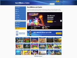 Play Euro-Millions Casino Now