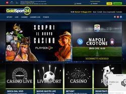 Play GoldSport24 Now