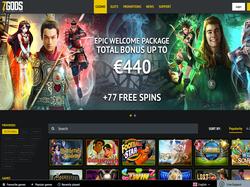 Play 7 Gods Casino Now