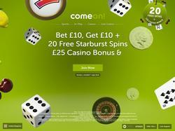 Play ComeOn! UK Now