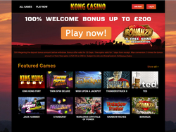 Play Kong Casino Now