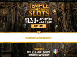 Play Temple Slots Now