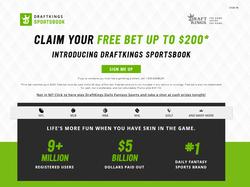 Play DraftKings Sportsbook Now