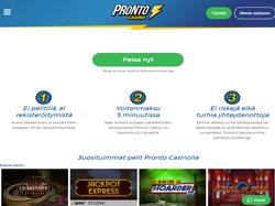 Play Pronto Casino Now