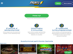 Play Pronto Casino Now