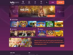 Play Bella Casino Now