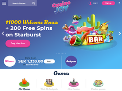 Play Casino Joy Now