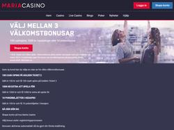 Play Maria Casino Sweden Now