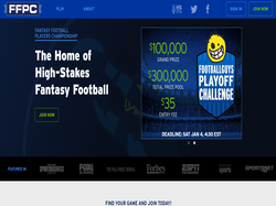 Play Fantasy Football Players Championship Now