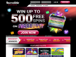 Play Incredible Spins Now