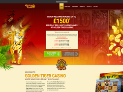 Play Golden Tiger Casino UK Now