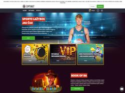 Play Optibet Lithuania Now