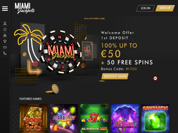 Play Miami Jackpots Now