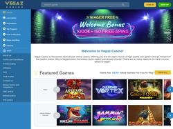 Play Vegaz Casino Now