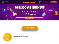 Play Winner's Magic Now