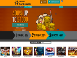 Play Casino SuperWins Now