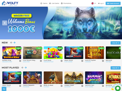 Play Wolfy Casino Now