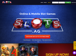 Play Slots.ag Now
