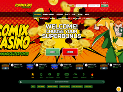 Play Comix Casino Now