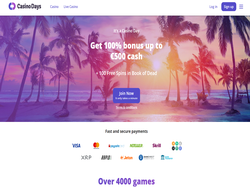 Play Casino Days Now