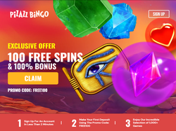 Play Pizazz Bingo Now