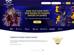 Play The Masked Singer UK Games Casino Now