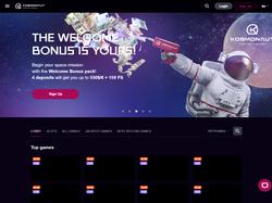 Play Kosmonaut Online Casino Now