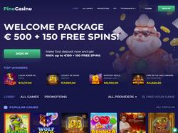 Play Pino Casino Now