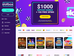 Play Slotbox Now