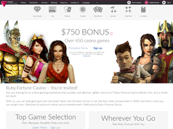 Play Ruby Fortune Casino Now