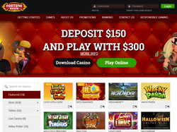 Play Fortune Room Online Casino Now