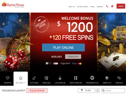 Play Royal Vegas Online Casino Now