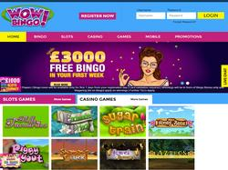 Play WOW Bingo Now