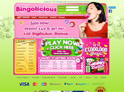 Play Bingolicious Now