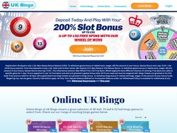 Play UK Bingo Now