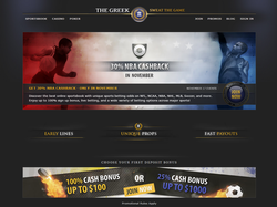 Play The Greek Sportsbook Now
