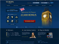 Play Europa Casino Now