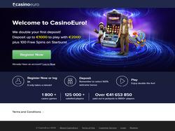 Play CasinoEuro Now