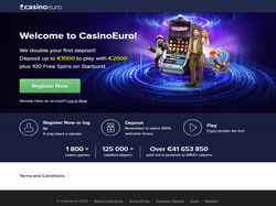 Play CasinoEuro Now