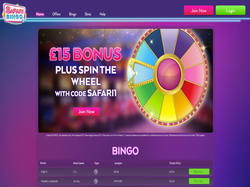 Play Safari Bingo Now