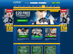 Play Coral Poker Now
