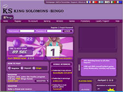 Play King Solomons Bingo Now