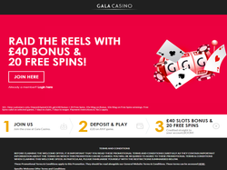 Play Gala Casino Now