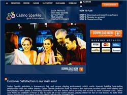 Play Casino Sparkle Now